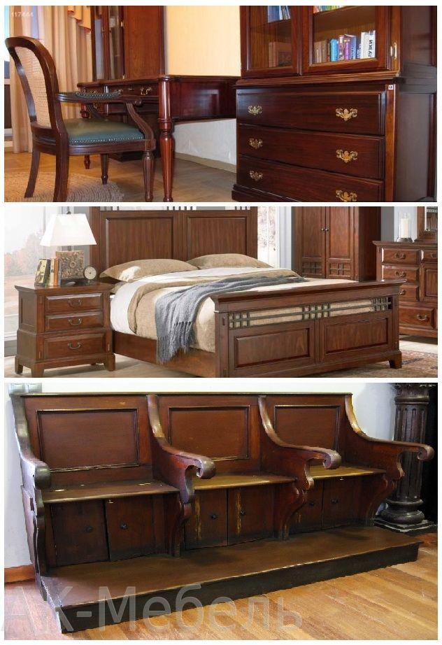 Мебель из дерева для дома