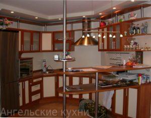 Кухня с фасадами рамка МДФ