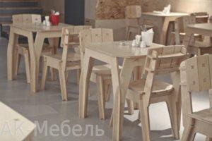 Столы и стулья из фанеры