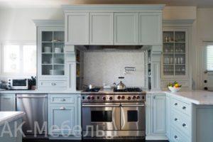 """Кухня в стиле прованс, недорогое изготовление на заказ производителем """"АК-Мебель"""""""