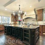 Фото кухонь массив дерева 2017