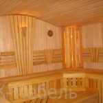 Мебель для бани и сауны из массива дерева