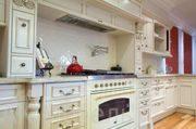 Крашенная кухня эмаль на заказ, стиль классика
