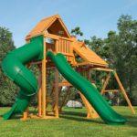 Детский игровой комплекс, реставрация