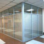 Установка офисных и межкомнатных перегородок