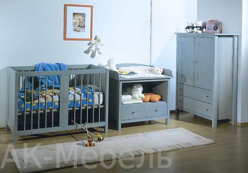 Детская мебель на заказ, из массива сосны