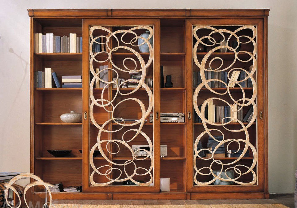 Деревянные шкафы с оригинальным дизайном