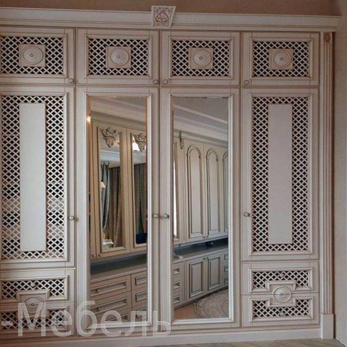 Деревянные шкафы на заказ в Москве