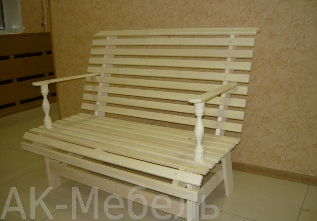 Изготовление скамеек для бани и сауны