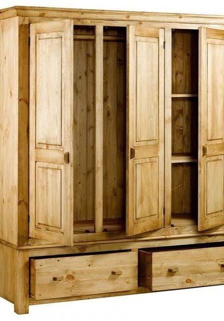 Шкаф из сосны с ящиками