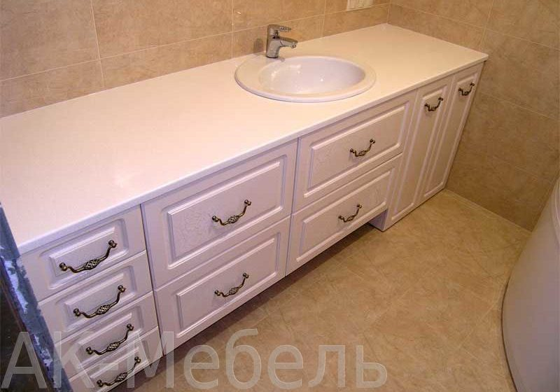 Недорогая мебель в ванную