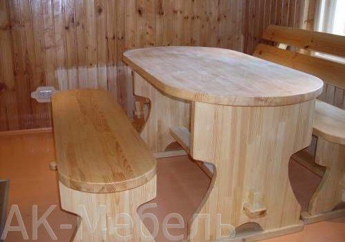Заказная мебель для бани и сауны