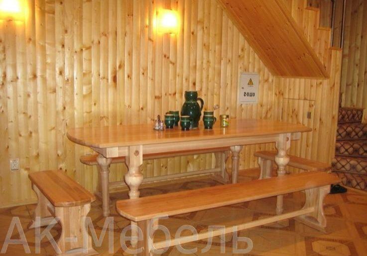 Мебель на заказ для бани