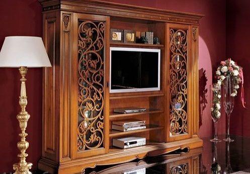 Оригинальные деревянные шкафы от производителя АК-Мебель