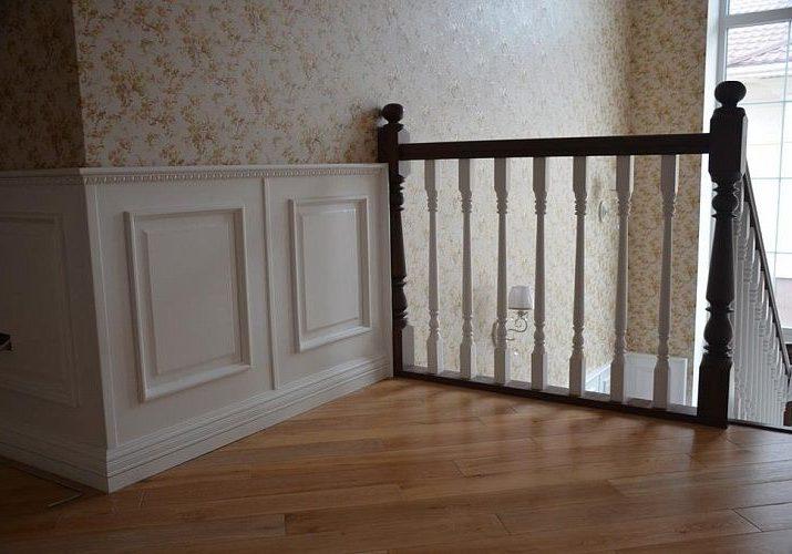 Стеновые панели на второй этаж для лестниц