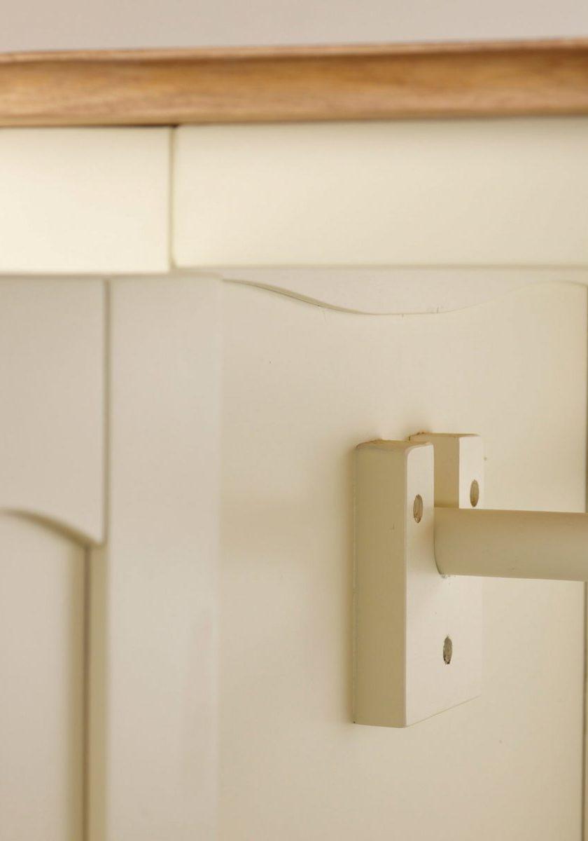 Шкаф двухдверный из МДФ, для одежды с одним ящиком, штанга