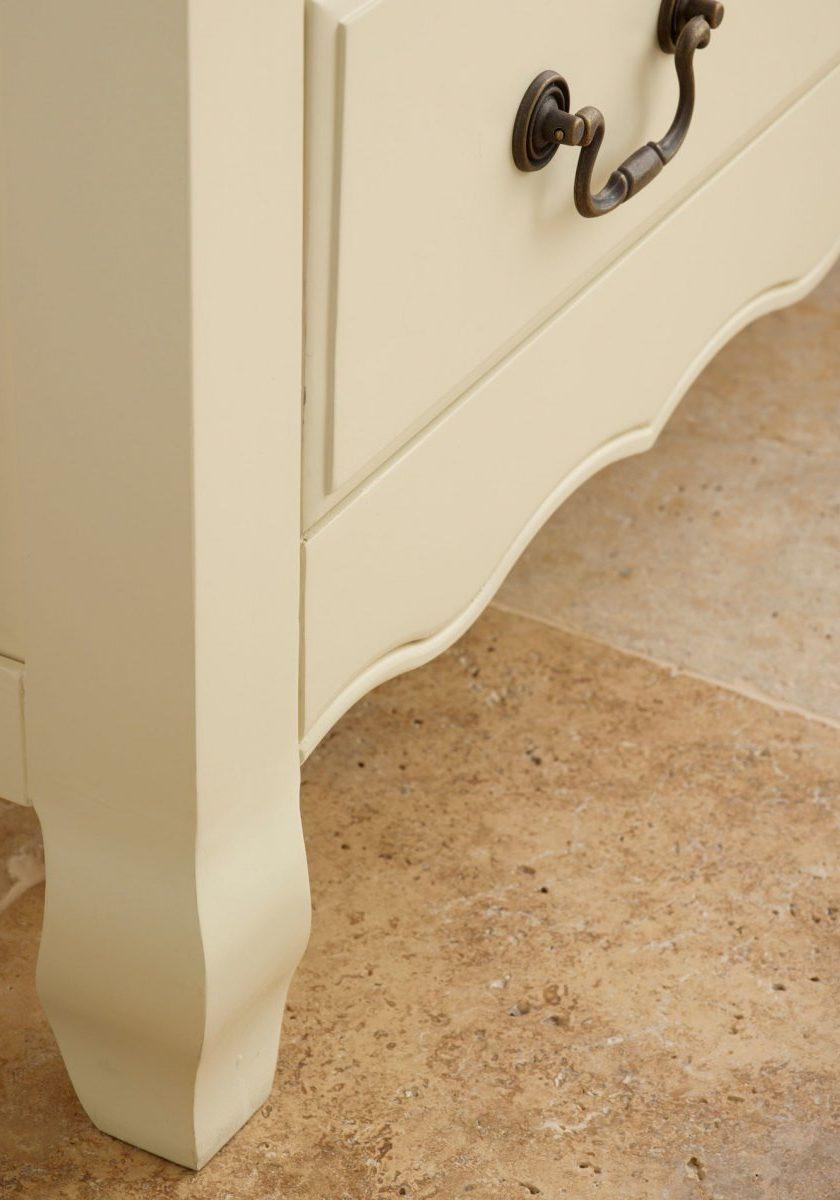 Шкаф двухдверный из МДФ, для одежды с одним ящиком, ножки