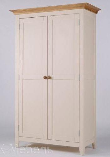 Двухдверный шкаф из МДФ крашенный под эмаль, серия Сапсан