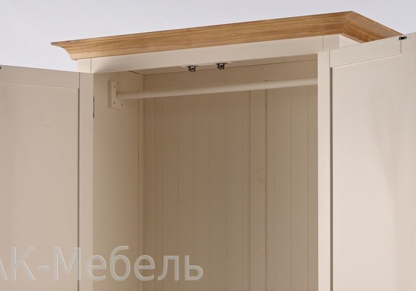 Двухдверный шкаф для одежды, мебель серии Сапсан