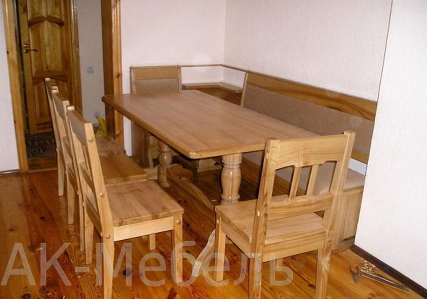 Деревянная мебель для сауны, изготовление