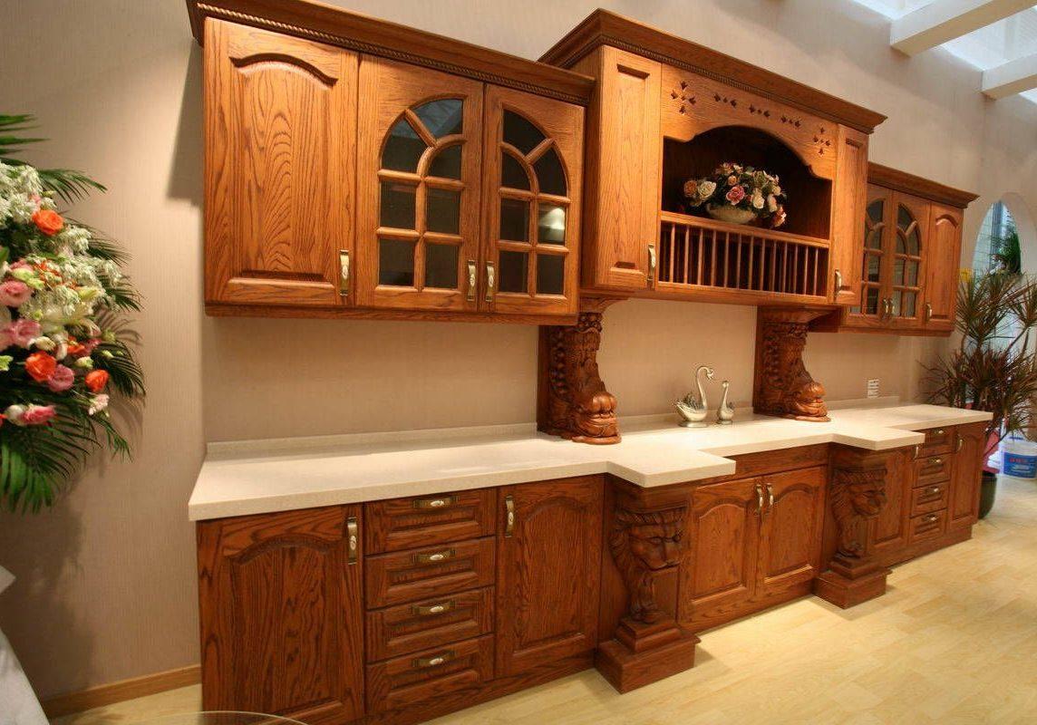 Деревянная кухня из ясеня на заказ