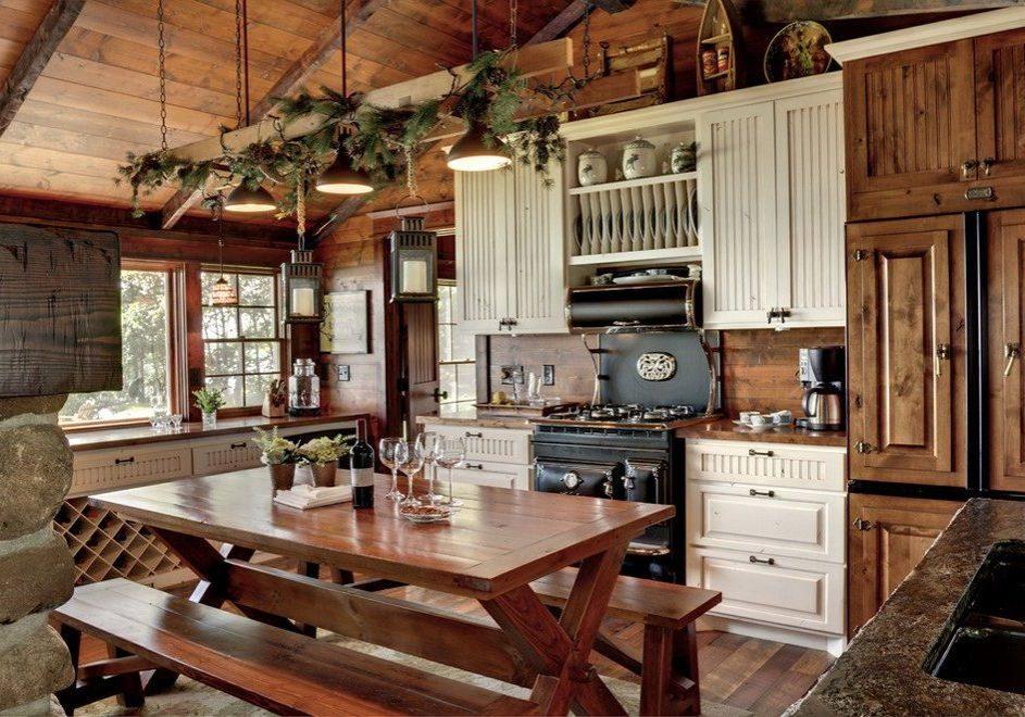 Деревянная кухня на заказ в Мсокве