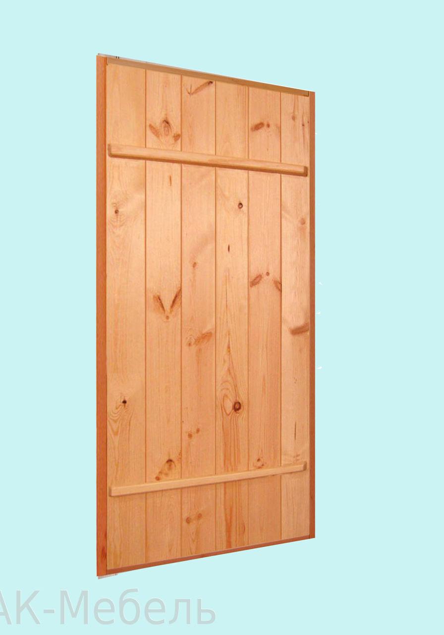 Деревянная дверь массив сосны