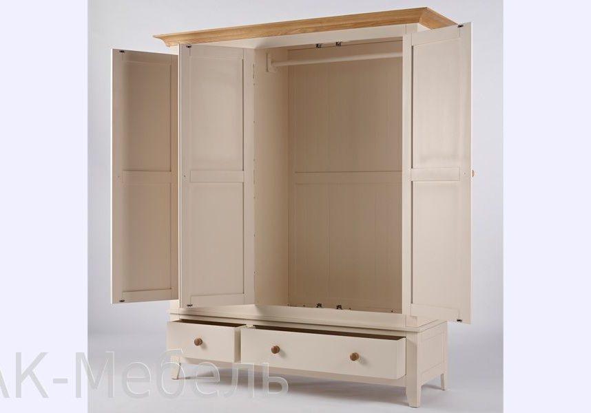 Шкаф трехдверный МДФ, мебель серии Сапсан