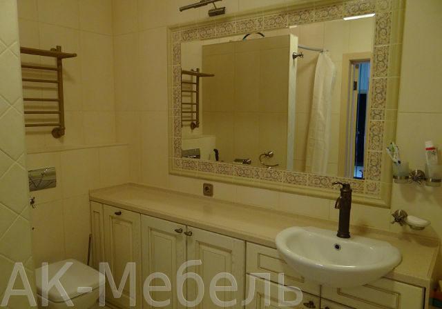 Мебель на заказ из МДФ для ванной