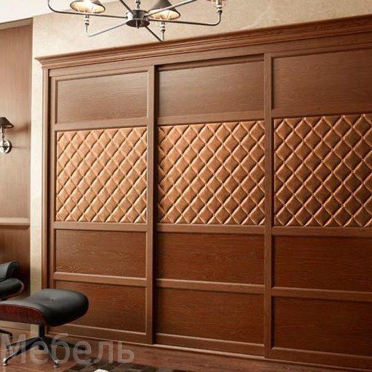 Деревянные шкафы со шпоном. Изготовление быстрое