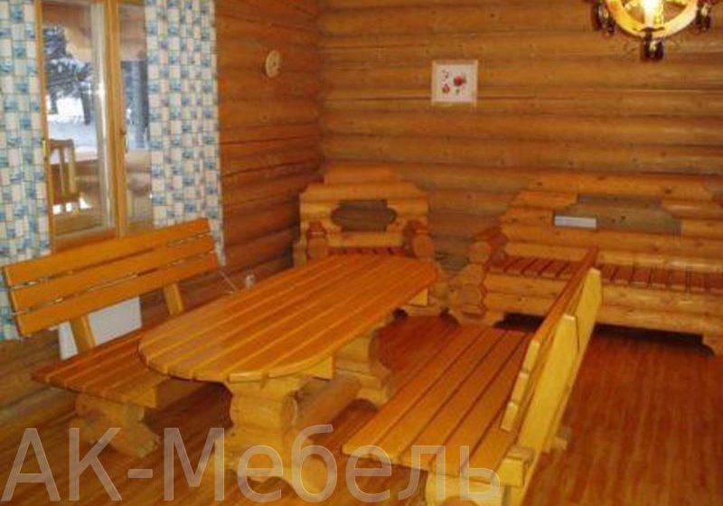 Недорогая мебель для сауны