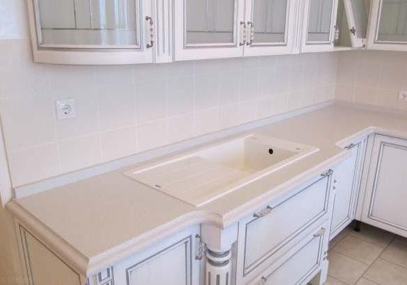 Изготовление кухонных столешниц из искусственного камня
