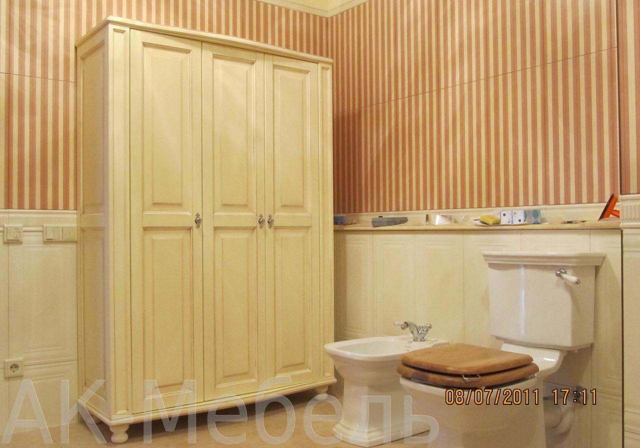 Шкаф крашенный МДФ для ванной