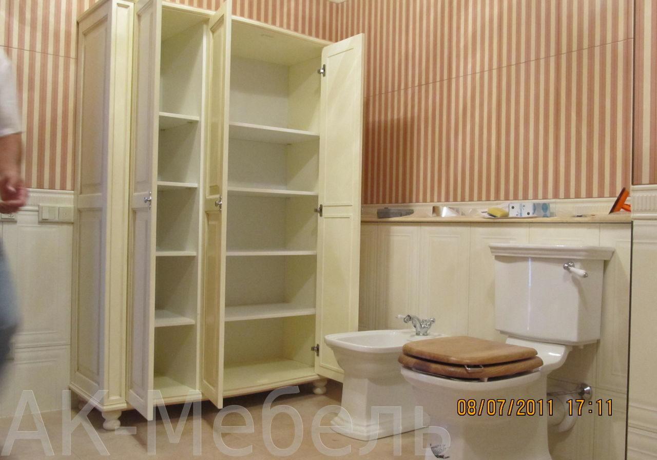 Шкаф из МДФ в ванную