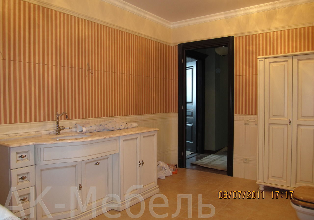 Мебель в ванную крашенный МДФ, матовый