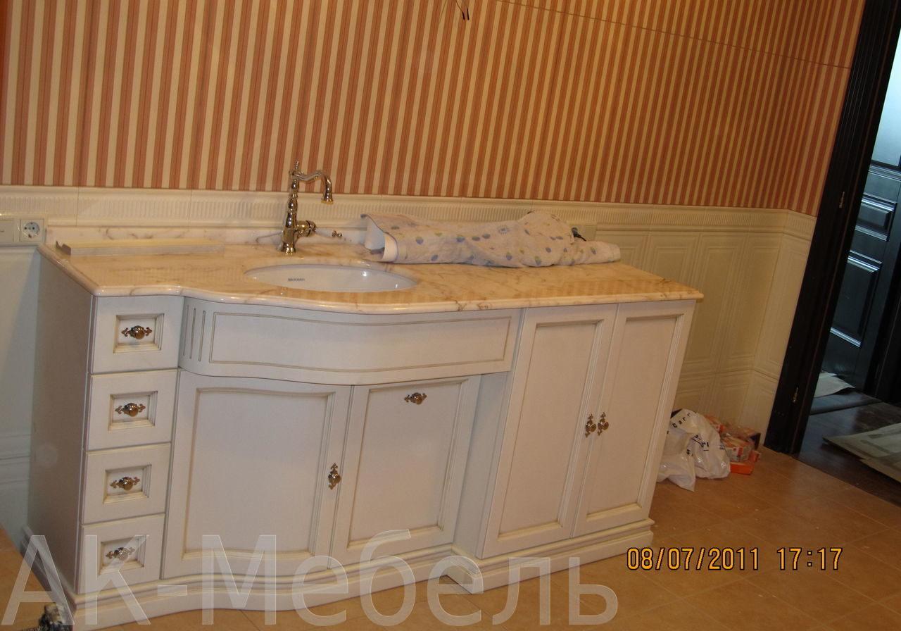 Мебель для ванной МДФ матовый, крашенный