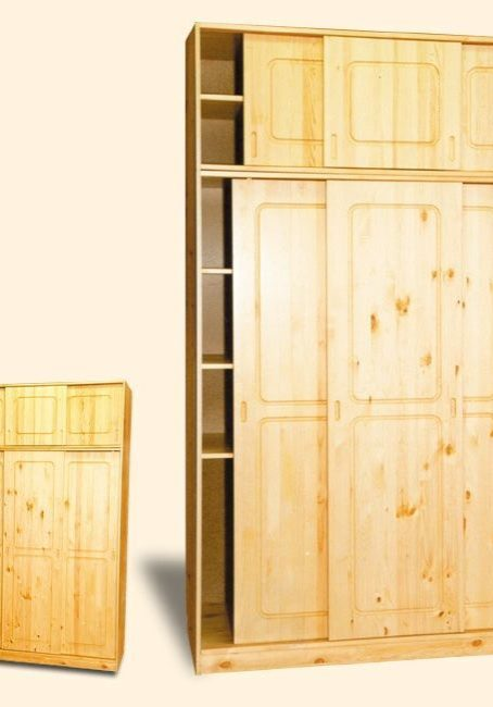Шкаф купе из сосны