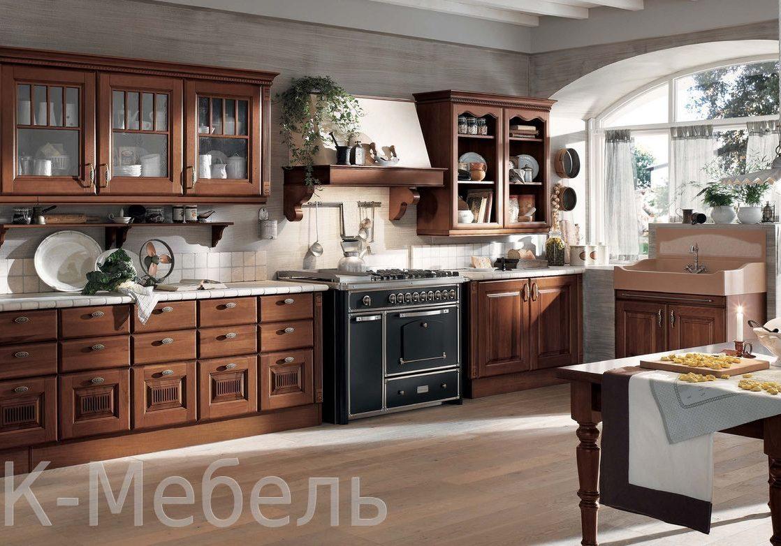 Кухня дуб