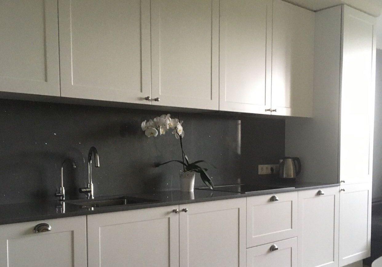 Крашенная кухня МДФ, цвет белый
