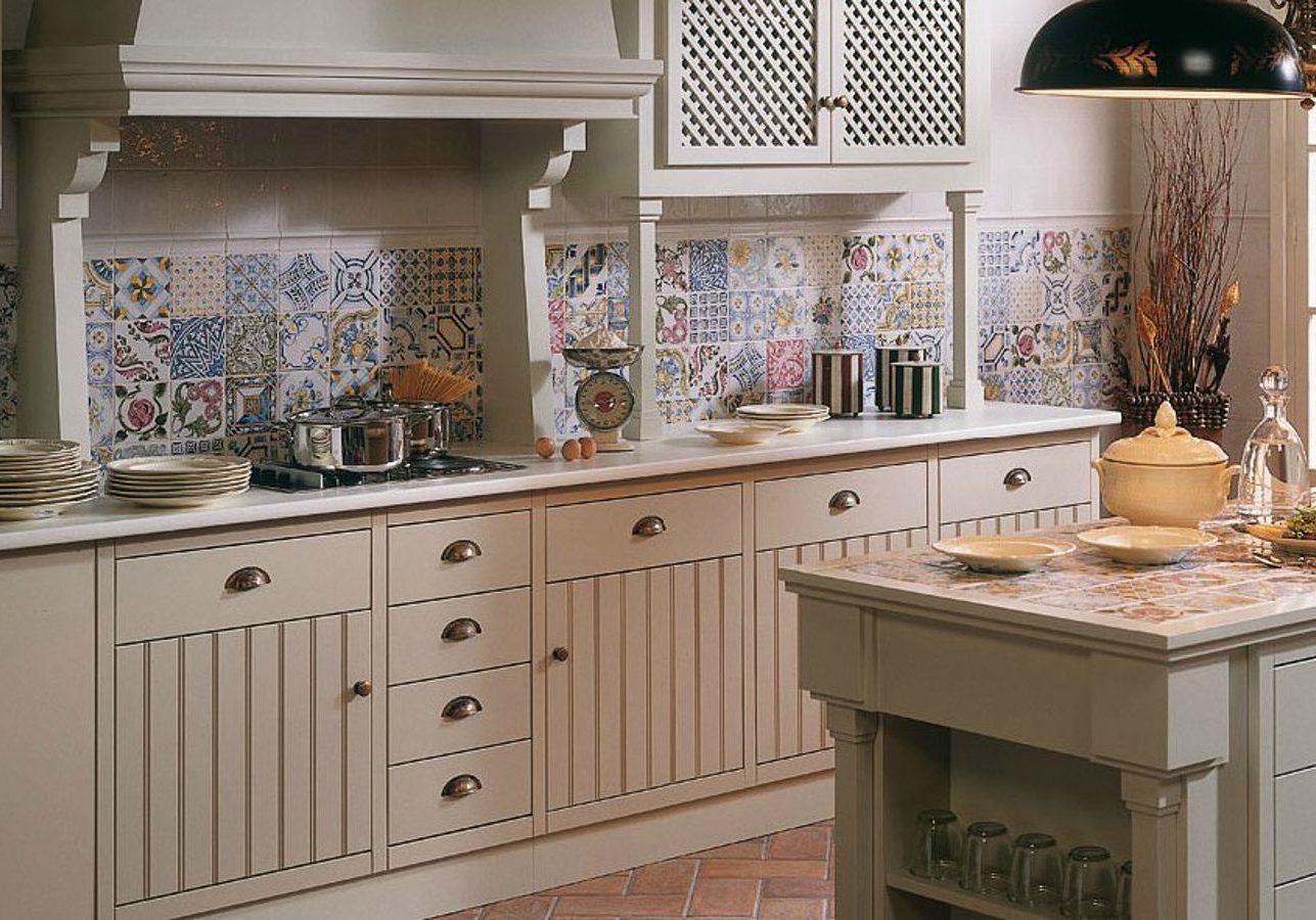 Красивые кухни прованс