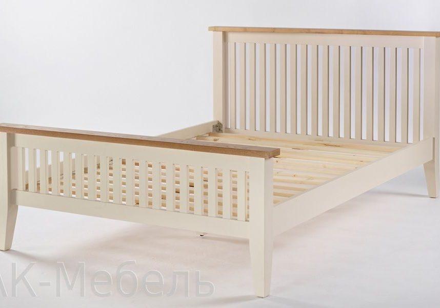 Кровать из МДФ эмаль серии сапсан
