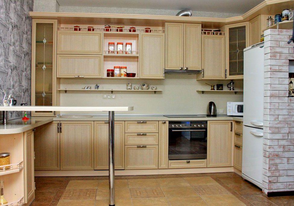 Кухня, фасады рамка МДФ