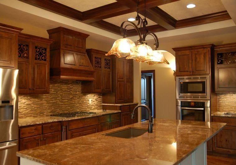 Купить кухня с деревянными фасадами