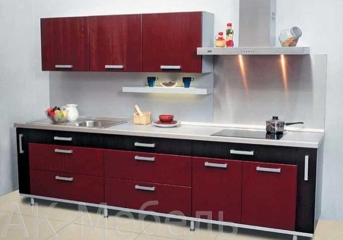 Кухня с фасадми пленка на заказ