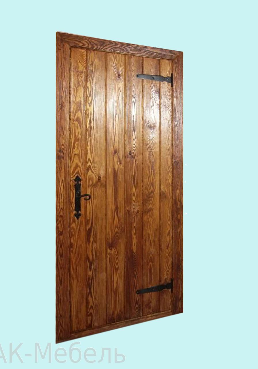 Массив сосны, дверь