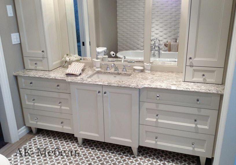 Мебель из мдф в ванную под заказ