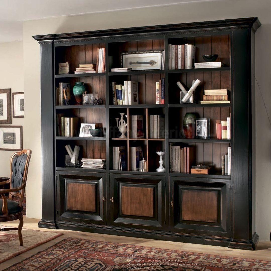 Открыты шкаф из дерева, для книг