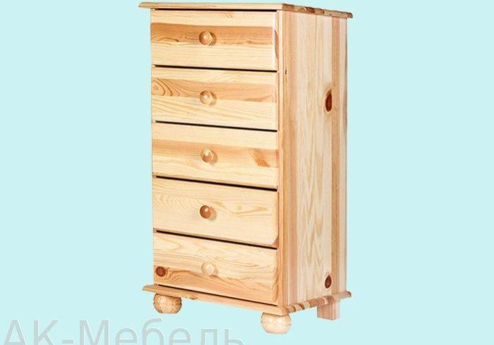 Мебель из массива сосны, с ящиками