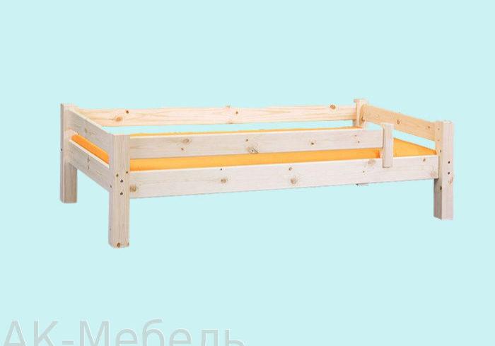 Мебель из сосны, кровать