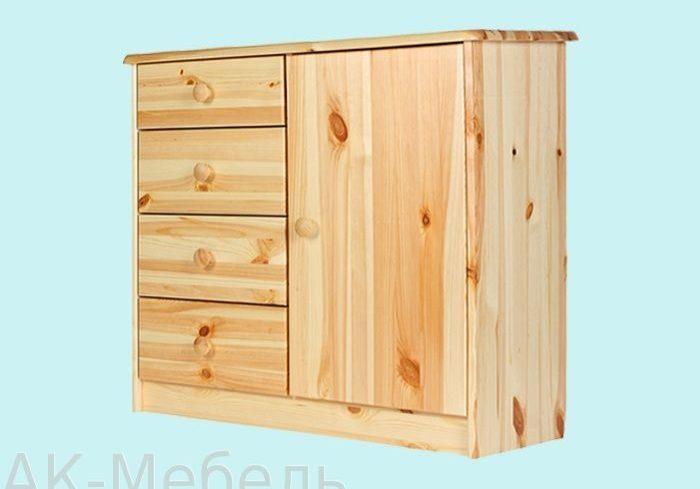 Мебель из сосны, комоды